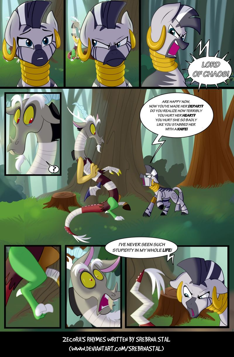 Page 182: Pissed Zecora is pissed