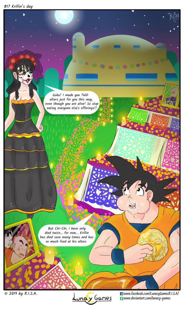 Page 17 : Krillin's day