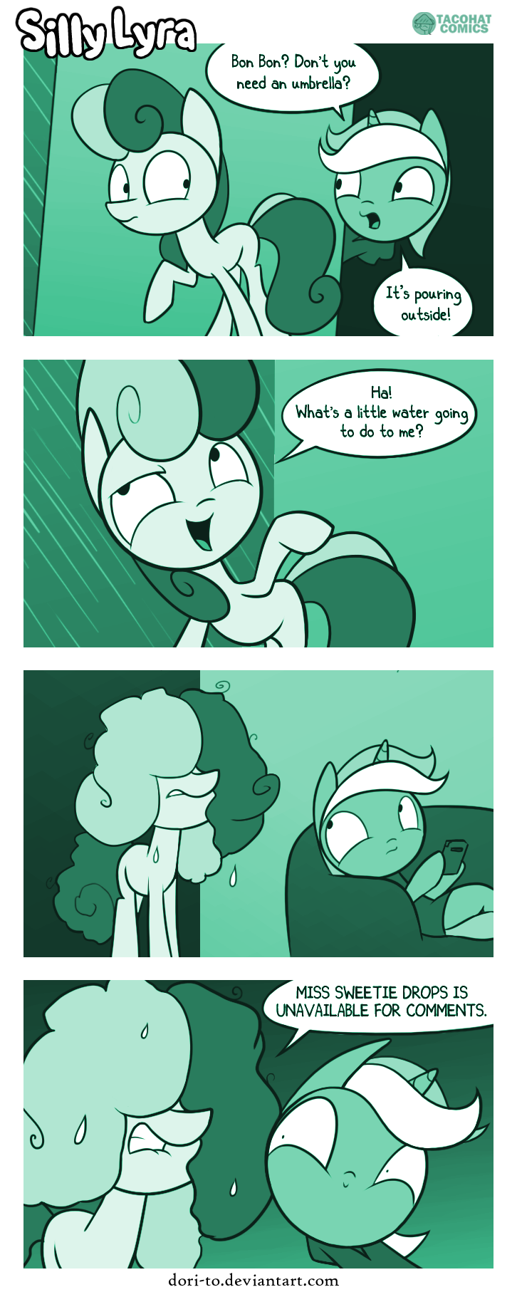 Comic strip #38 - Umbrella