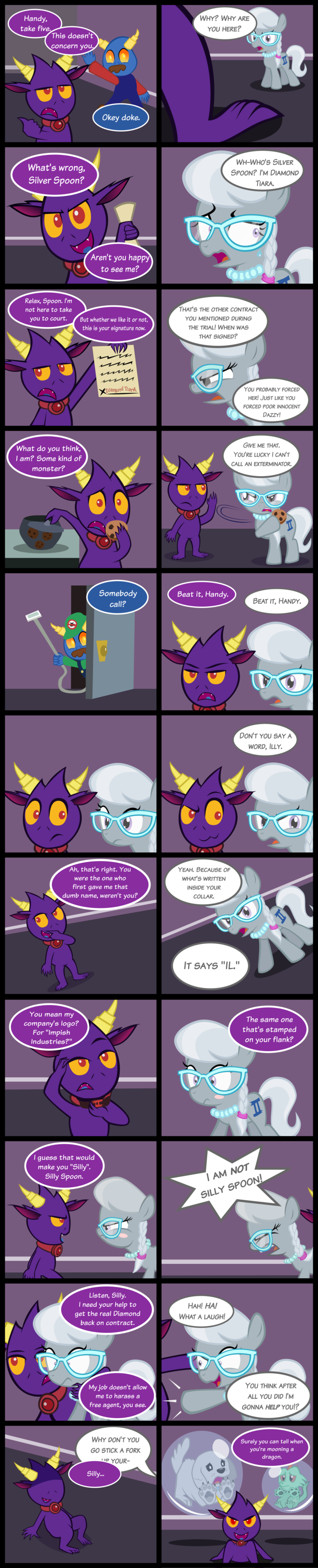 Page 98 :Silver and Illy: Heart