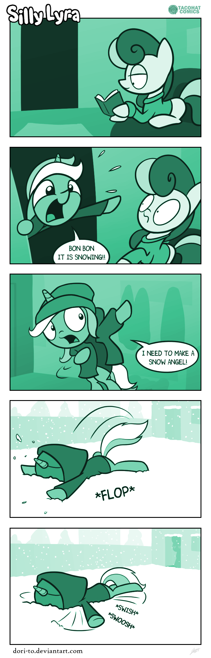 Comic strip #32 - Snow Mare