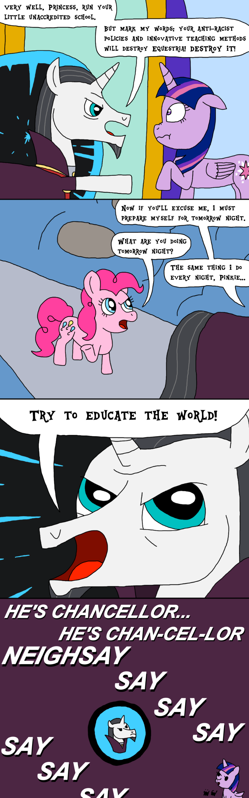 Episode 1+2 Pinkie and Neighsay