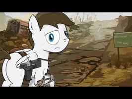 Fallout Equestria: Grounded - Pages 21 to 25 (Dark) (Comic Dub)